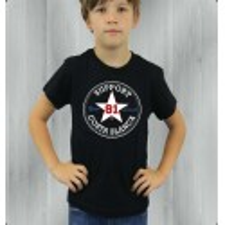 Hells Angels Support81 Star Black Children's T-Shirt