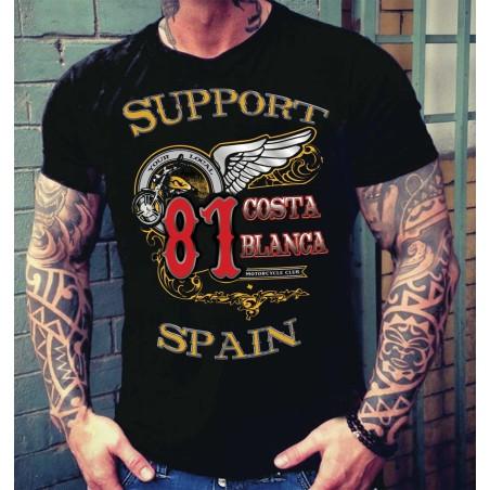 Hells Angels Big Red Machine Softail Support81 T-Shirt