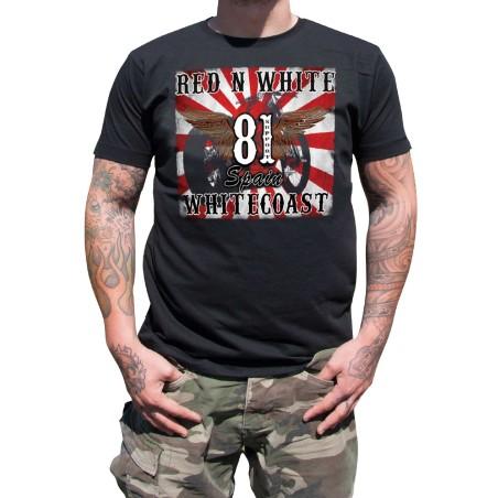 Hells Angels Whitecoast Big Red Machine  Support81 T-Shirt