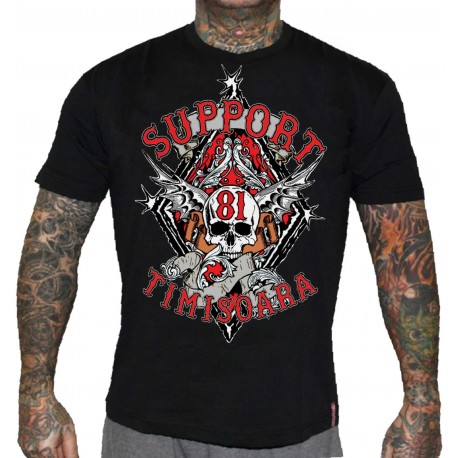 Hells Angels Timisoara Support81 T-Shirt