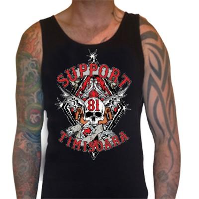 Hells Angels Timisoara Support81 Tanktop