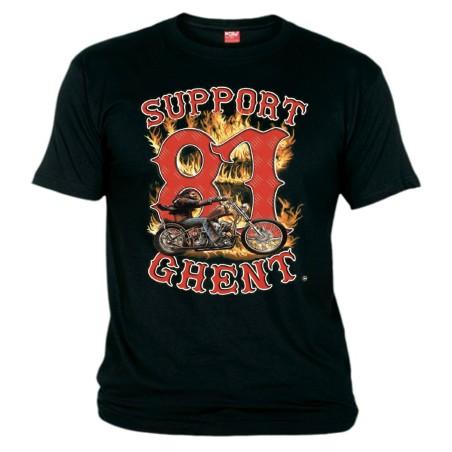 Hells Angels Ghent Belgium Davidmann T-Shirt