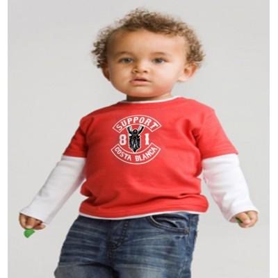 Top a Capas Bebé Support 81 Costa Blanca Hells Angels College