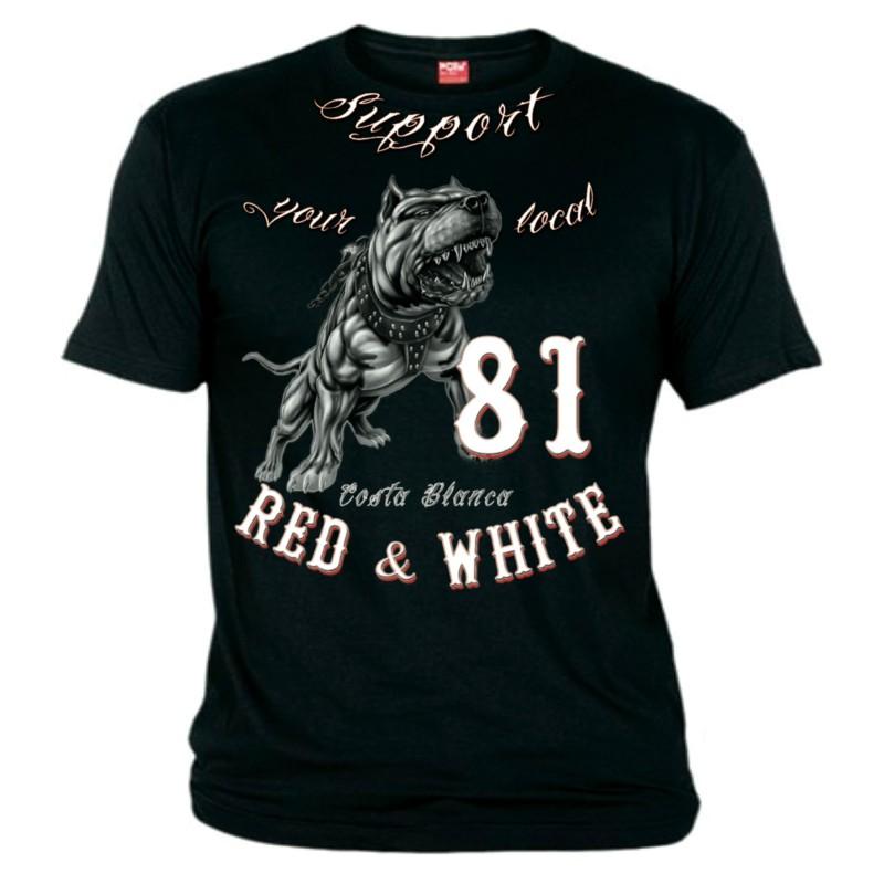 Hells Angels Pitbull Support81 T-Shirt