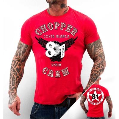 Hells Angels Choppercrel Support81 T-Shirt