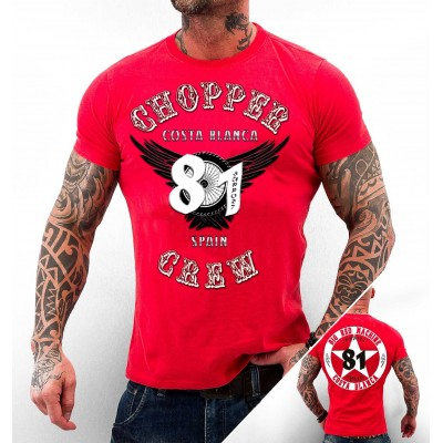 Hells Angels Choppercrewl Support81 Camiseta