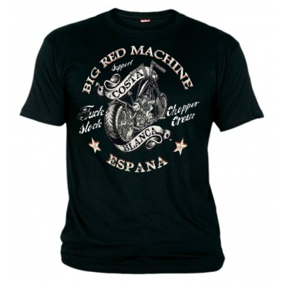 Hells Angels Big Red Machine f*ck stock Support81 T-Shirt