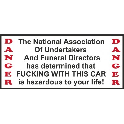 Hells Angels Support 81 autocollant sticker National Association Car
