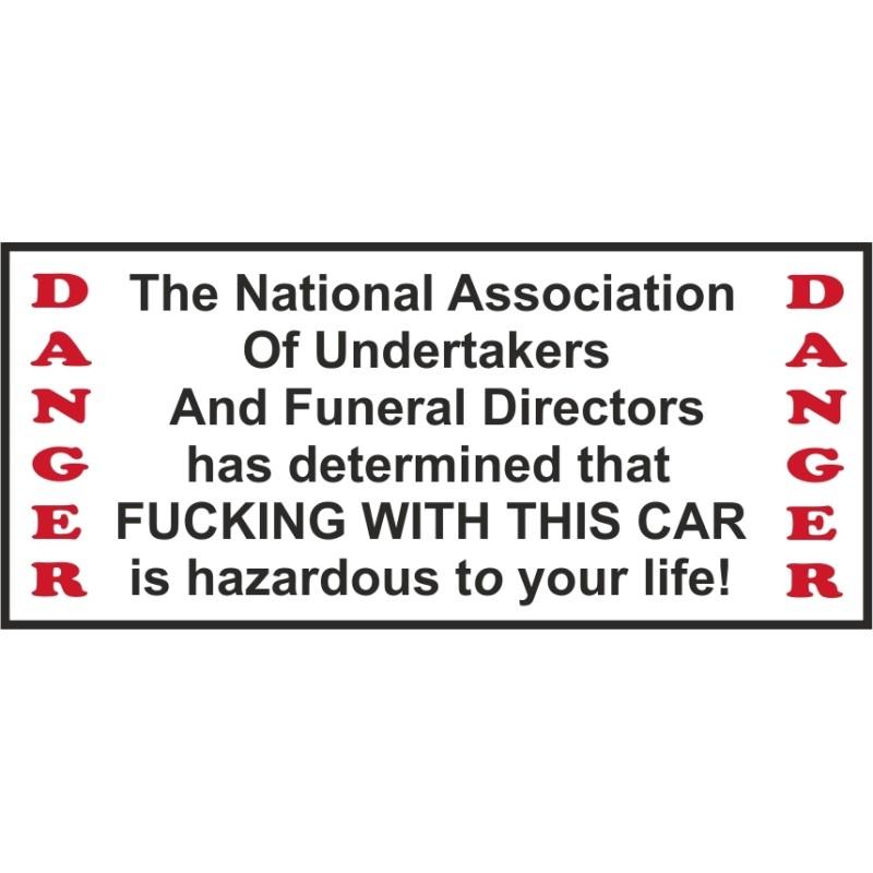 Hells Angels Support 81 autocollant sticker National Association Car