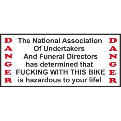 Hells Angels Support 81 adhesivo sticker National Association Bike