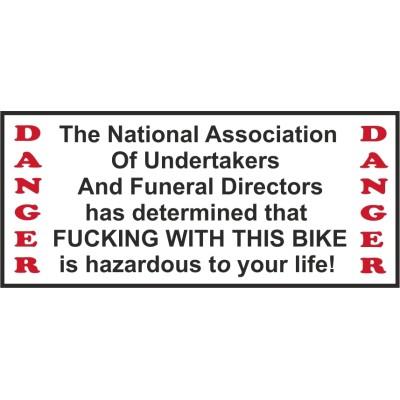 Hells Angels Support 81 autocollant sticker National Association Bike