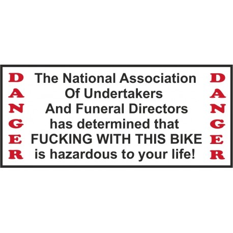 Hells Angels Support 81 autocollant sticker National Association Bike