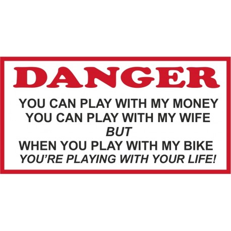 Hells Angels Support 81 autocollant sticker Play with my Money