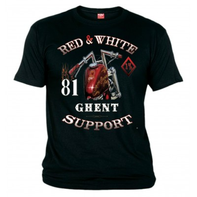Hells Angels Support81Ghent Belgium Sinner Camiseta
