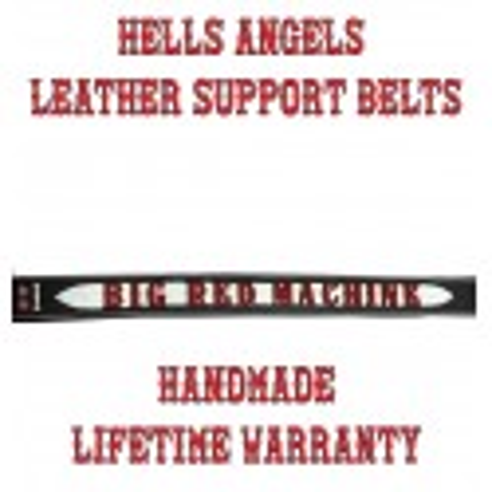 Belt Hells Angels Big Red Machine
