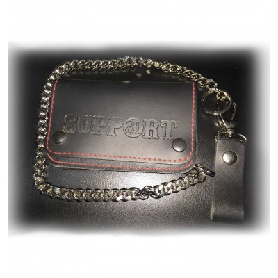 Hells Angels Support81 plain Wallet 15cm with Chain