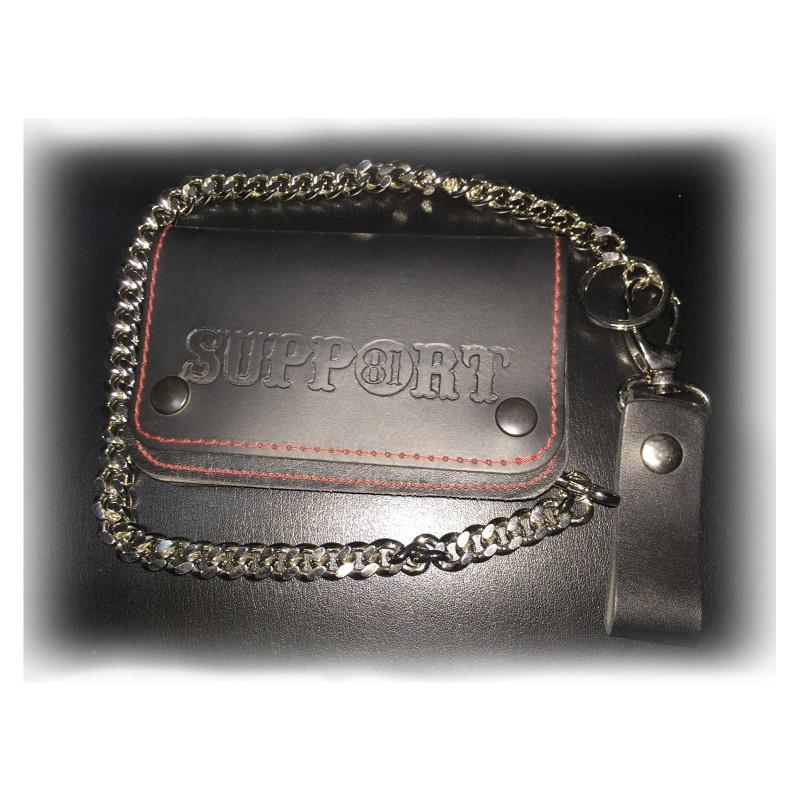 b79913748f895 Hells Angels Support81 Wallet schwarz Geldbeutel 15cm - Hells Angels ...