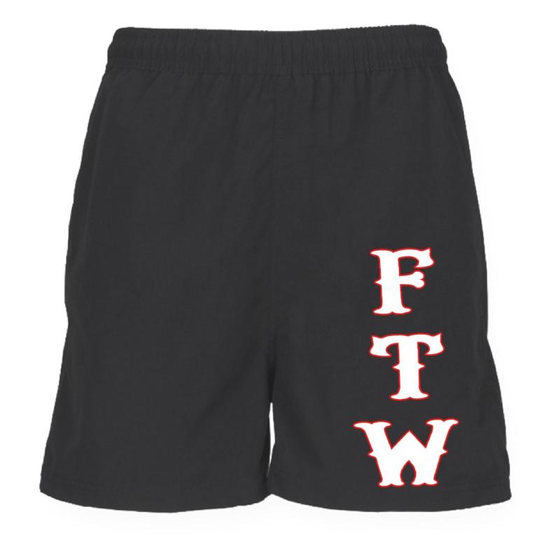 Support 81 Hells Angels Sport Shorts FTW black