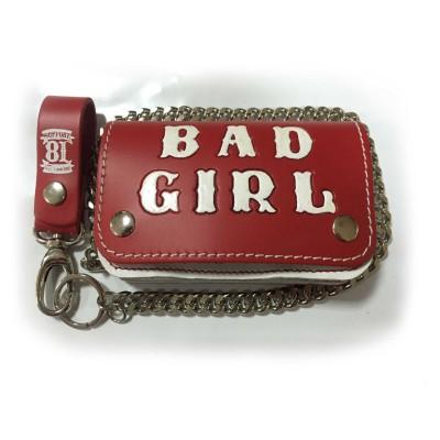 Hells Angels Support81 Wallet rot weiss Bad Girl Geldbeutel 15cm