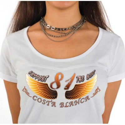 Hells Angels Golden Wings Ladies T-Shirt