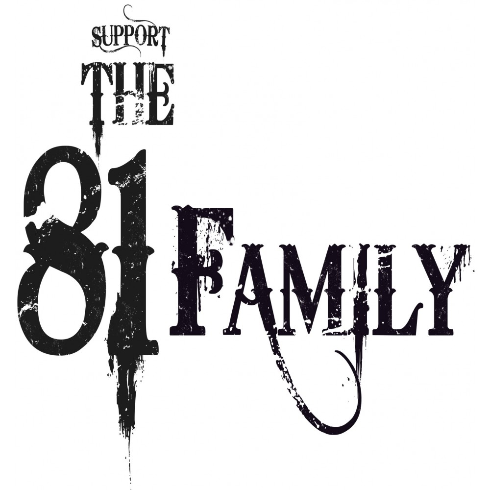 Hells Angels Support 81 Family Ladies T-Shirt - Hells Angels World