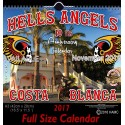 Hells Angels Support 81 Calendar Limited Edition 2017 Big Red Machine