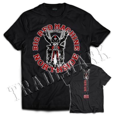 Hells Angels NorthSide Spain T-Shirt model 3 Front + Back side printed