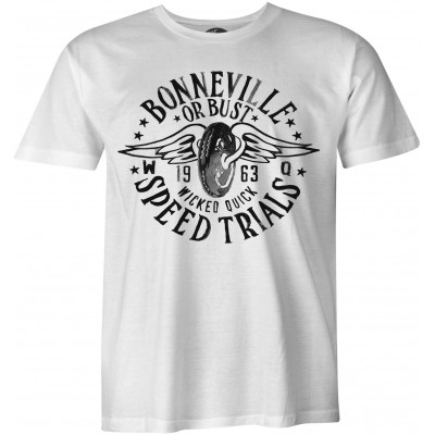 Bonneville 1953 Speed Trials Vintage biker camiseta