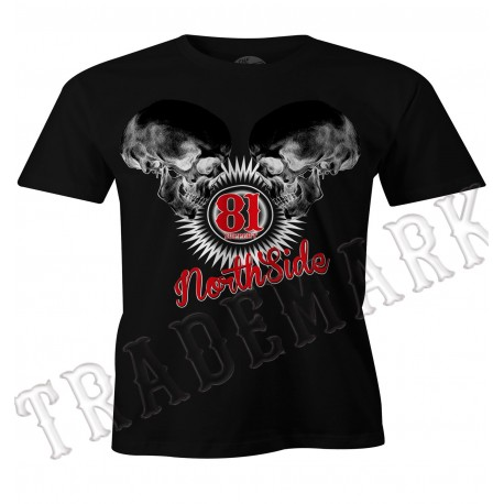 Hells Angels NorthSide Spain black T-Shirt model 5