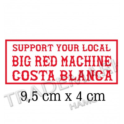 Hells Angels adesivo Support BRM Costa Blanca