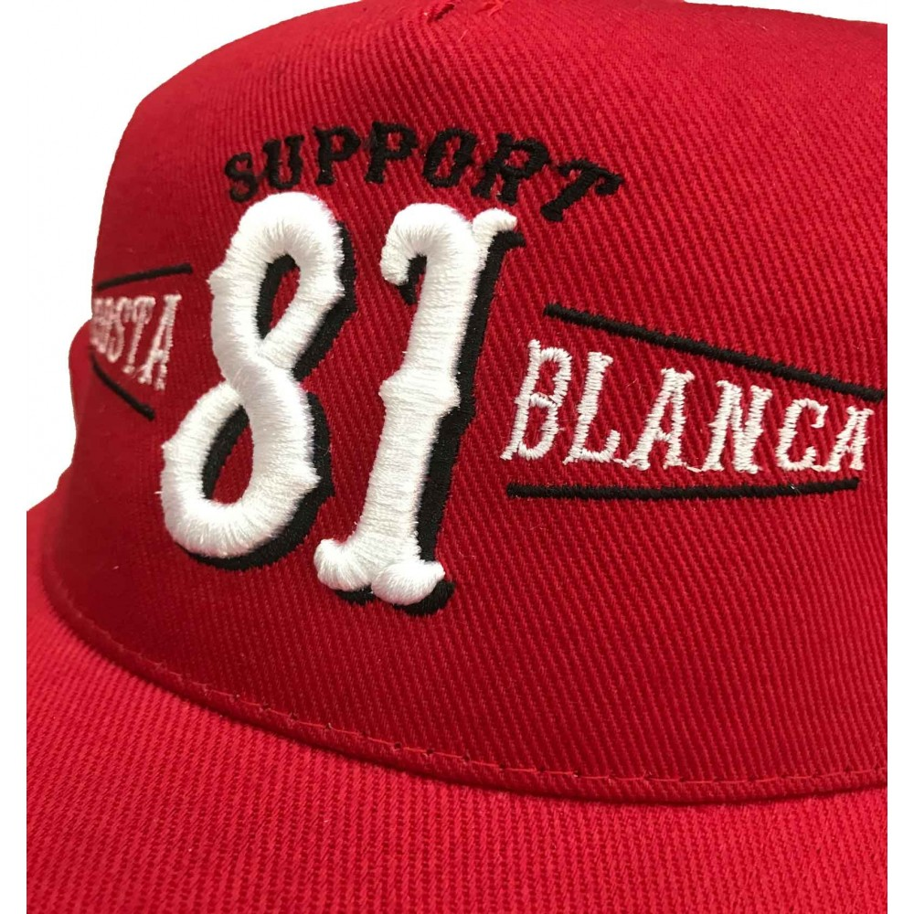 9db2ba98201 ... Hells Angels Support 81 Costa Blanca Spain embroidery baseball cap red