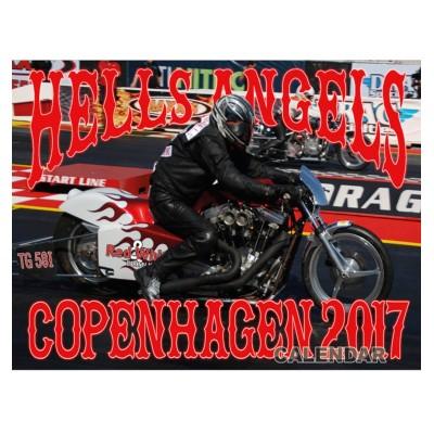 Hells Angels MC Copenhagen support 81 Calendar 2017