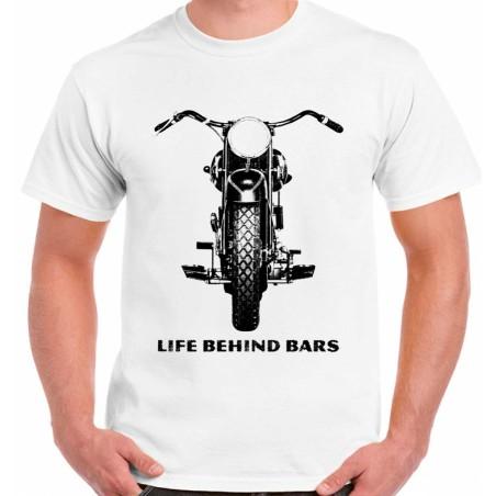 Moto vida tras las rejas-Para Hombre Divertido Camiseta Superbike