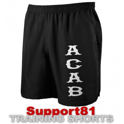 Support 81 Hells Angels Sport Shorts Aca* black