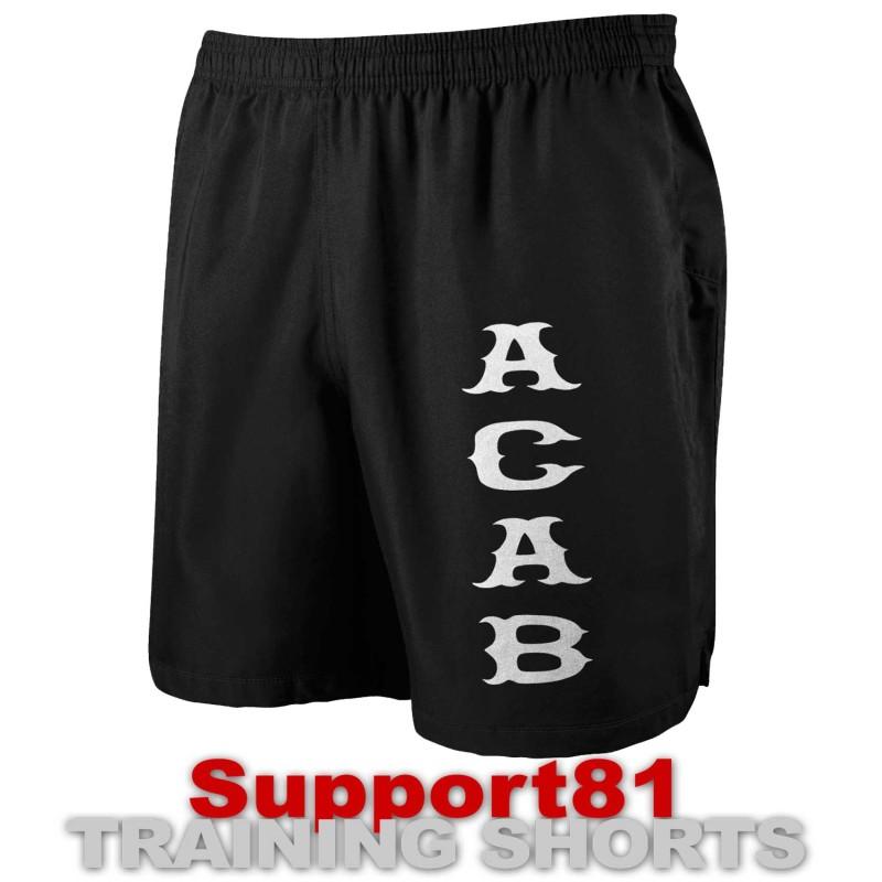 Support 81 Hells Angels Sport Shorts Aca* black