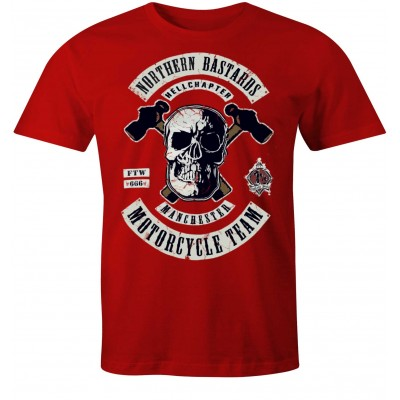 Hells Angels Manchester England Camiseta model 2