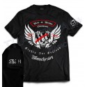 Hells Angels Manchester England T-Shirt model 5