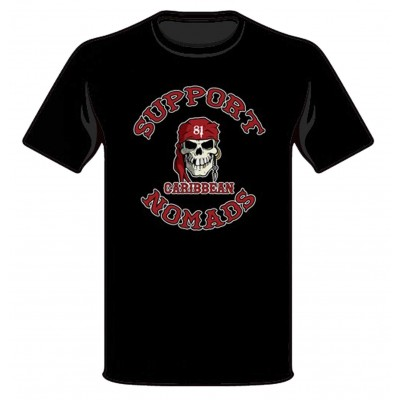 Hells Angels Nomads Caribbean T-Shirt model 1