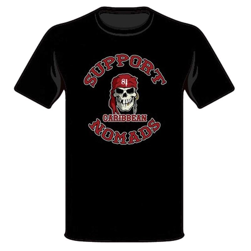Hells Angels Nomads Caribbean T-Shirt model 1