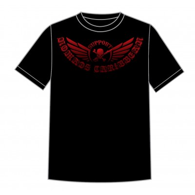 Hells Angels Nomads Caribbean T-Shirt model 4 black