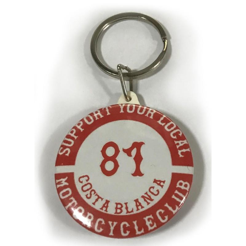 Support81 Hells Angels keyholder