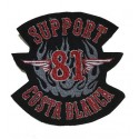 Patch Support 81 Costa Blanca Hells Angels small 12cm.