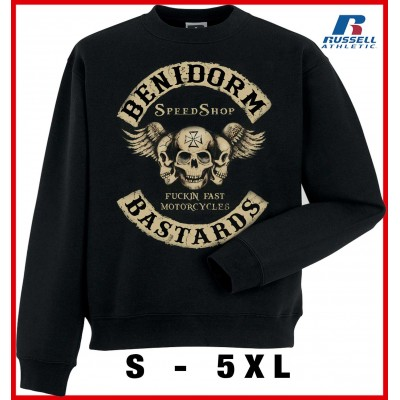 Hells Angels Anniversary Support81 Big Red Machine sudadera negra