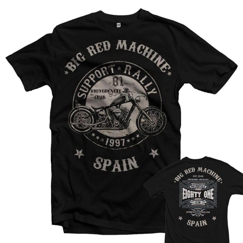 49 Hells Angels Flamed Sculls Weiss T-Shirt Support81 Costa del Sol Spain