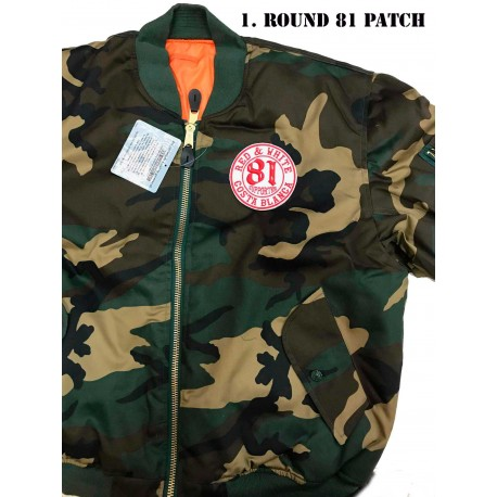 af118e5e5 Hells Angels Support81 MA-1 Camo Bomber Jacket - Hells Angels World Support  Store