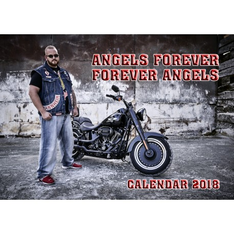 Hells Angels MC Germany Support81 Calendar 2018 Big Red Machine