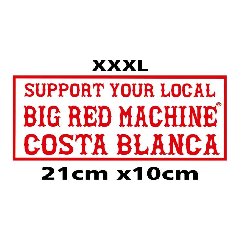 Hells Angels sticker Support BRM Costa Blanca