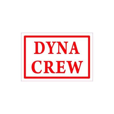 Hells Angels aufkleber DYNA CREW 6cm x 3,5cm