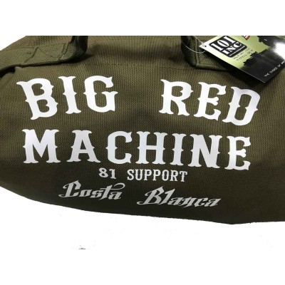 Hells Angels Support81 Army Duffel Bag Big Red Machine