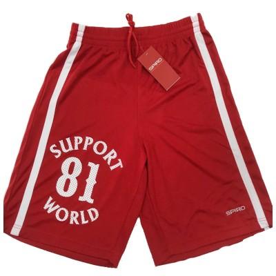 Support 81 Hells AngelsSports Pantalón corto BikerRojo Quick-Dry